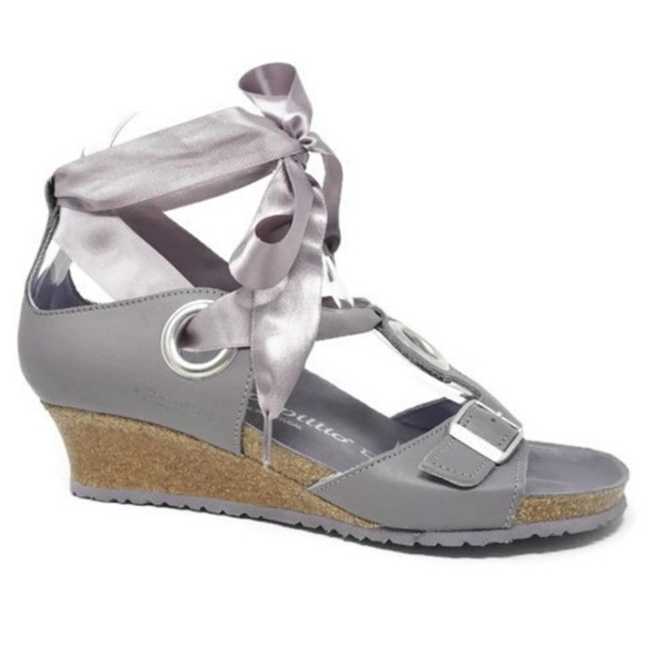 02b0a1dbc76 Birkenstock Shoes - Papillio Birkenstock Wedge Sandals Emmy Size 38